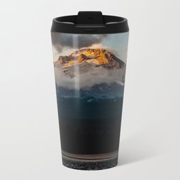 Mt. Hood at Sunset Metal Travel Mug