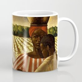 African American Masterpiece 'Employment of Negroes in Agriculture' by Earle Wilton Richardson Coffee Mug