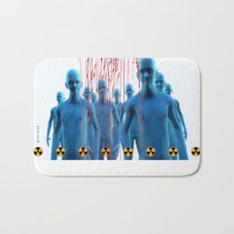 Aliens Gang & Strange Cosmic Blood Bath Mat