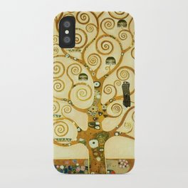 Gustav Klimt The Tree Of Life iPhone Case