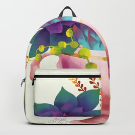 Teacup Succulent Garden Backpack