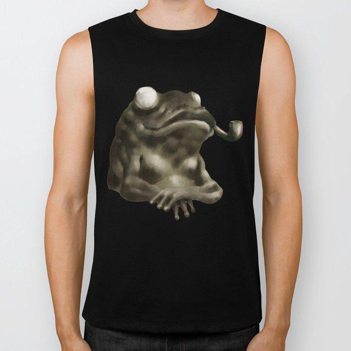 Gentleman Frog Biker Tank