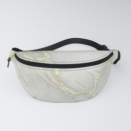 Marble Love Gold Metallic Fanny Pack
