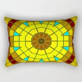 Glass Kaleidoscope Rectangular Pillow