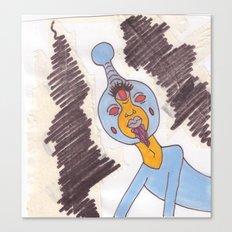 Space Prince Canvas Print