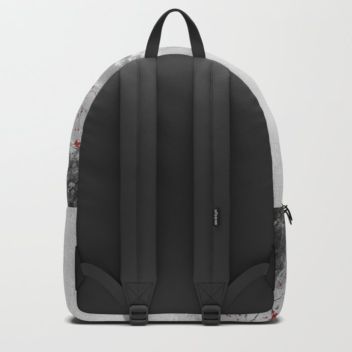 The red sounds and poems, Chapter II Backpack