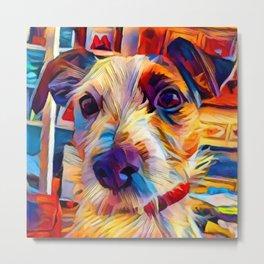 Jack Russell Terrier 2 Metal Print
