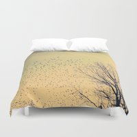 fly Duvet Covers featuring Fly by Olivia Joy StClaire