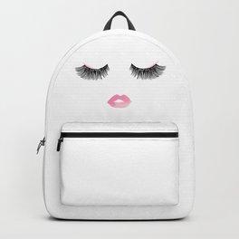 Fashion Eyelashes Backpack