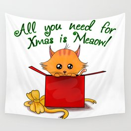 Meaowbox Wall Tapestry
