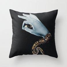 All seeing eye II. Throw Pillow