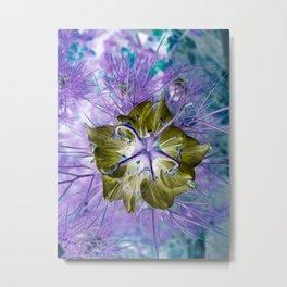 Extra-terrestrial Flower Metal Print