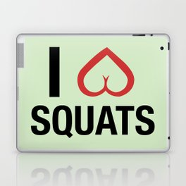 Squat Love Laptop & iPad Skin