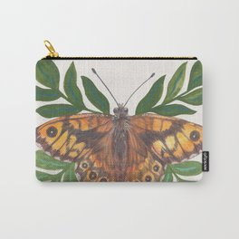 Wall Butterfly Carry-All Pouch