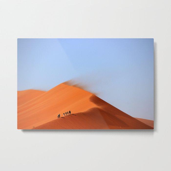 Desert hiking 4 Metal Print