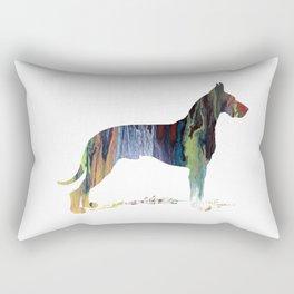 Great Dane Rectangular Pillow