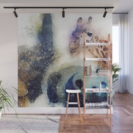 Animals Painting Wall Mural