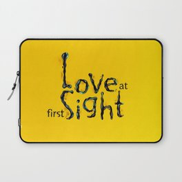 'Love At First Sight' Laptop Sleeve