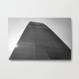 Arch Abstract Metal Print