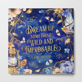 Dream up Metal Print