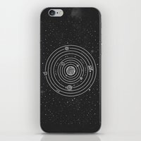 solar system iPhone & iPod Skins featuring SOLAR SYSTEM by Mírë