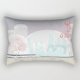 The Lands of Demos Rectangular Pillow
