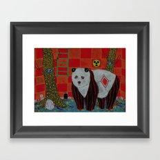 Résidence secondaire Framed Art Print