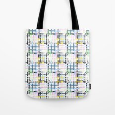Checkered pattern. Tote Bag