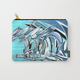 Evolution of Blue eyes white dragon Carry-All Pouch
