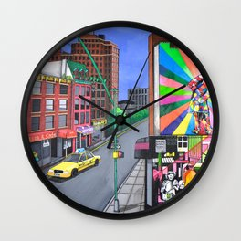 KOBRA VISITS CHELSEA Wall Clock