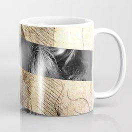 "Leonardo's ""Head of a Woman"" & Lauren Bacall Coffee Mug"