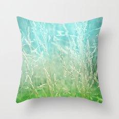 WHISPERING Throw Pillow
