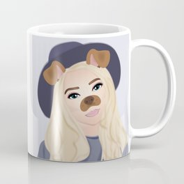 Snapchat Girl Coffee Mug
