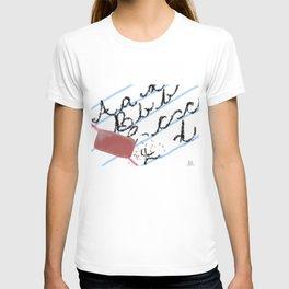 Lost Art of Penmanship T-shirt