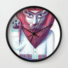 Lion's heart Wall Clock