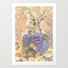 The March Hare Art Print
