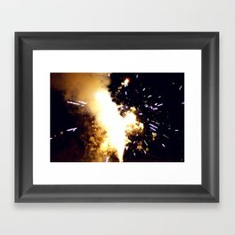 TIMEBOMB Framed Art Print