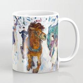 Galloping Horse by Edvard Munch Coffee Mug