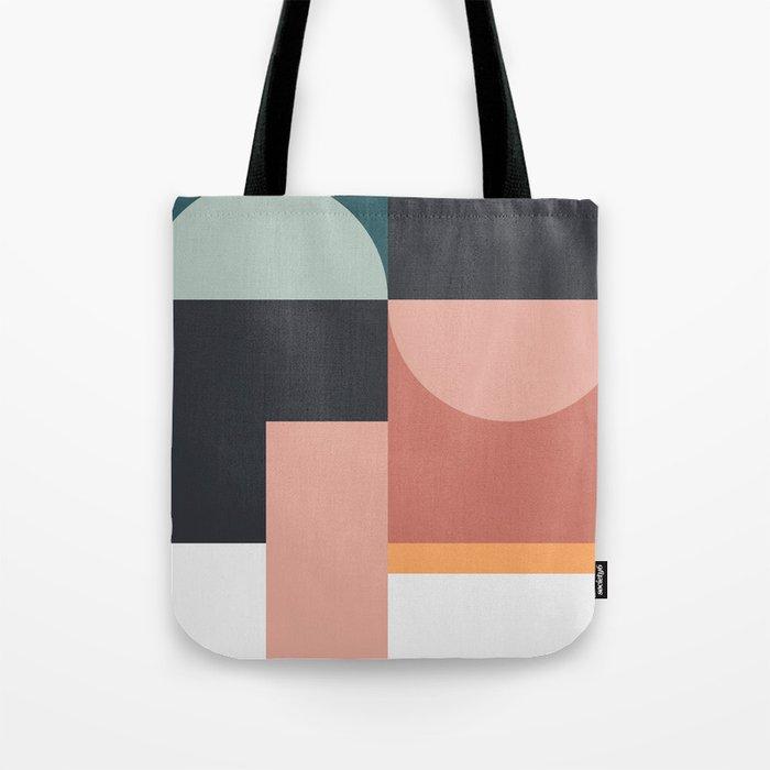 Abstract Geometric 07 Tote Bag