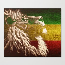 King Of Judah Canvas Print