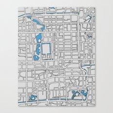 Central Beijing Canvas Print