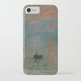 Claude Monet - Impression, Sunrise iPhone Case