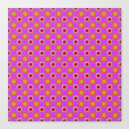 Glo-Dots! Canvas Print