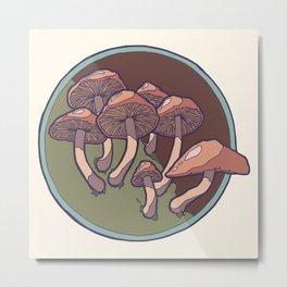 Mushrooms 2 Metal Print