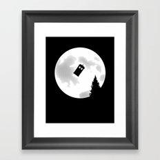 Dr Phone Home Framed Art Print