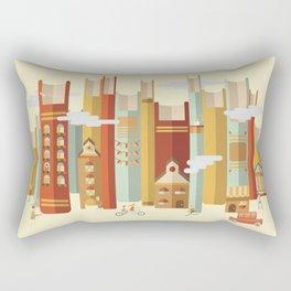 Big Books, Little People Rectangular Pillow