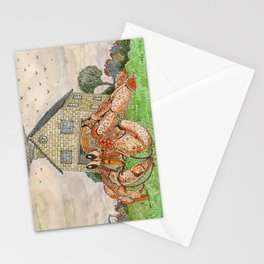 Hermit Apocalypse Stationery Cards
