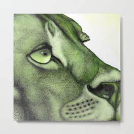 The Crooning Cougar Part 1 Metal Print