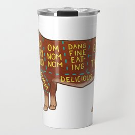 Cow Cuts Travel Mug