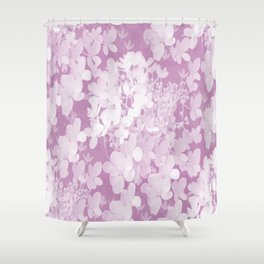 Pink Hydrangea Pastel Color #decor #society6 Shower Curtain